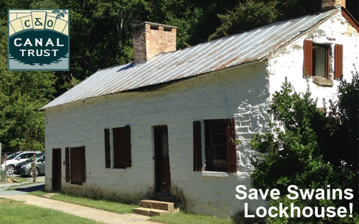Save Swains Lockhouse on the C&O Canal