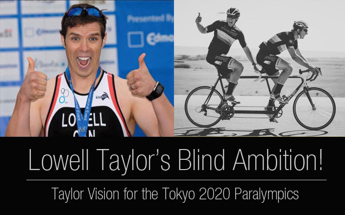 Taylor Vision - Lowell's Paralympic Dream!