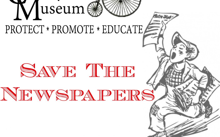 Save the Historic Newspapers