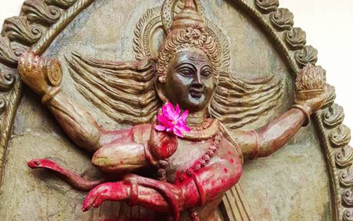Naked Before Maa: Pilgrimage to India