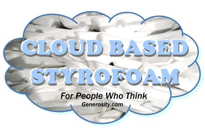 Cloud based Styrofoam
