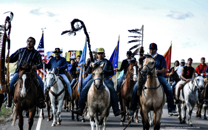 Ride for Our Sacred Water - STOP Dakota Access!