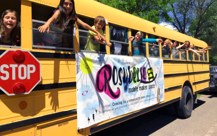 Rosybelle, The Mobile Maker Bus