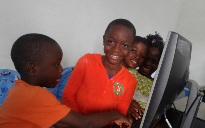 Computer Lab for Children in Santchou, Cameroon