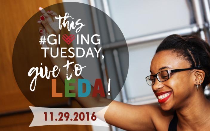LEDA Giving Tuesday 2016