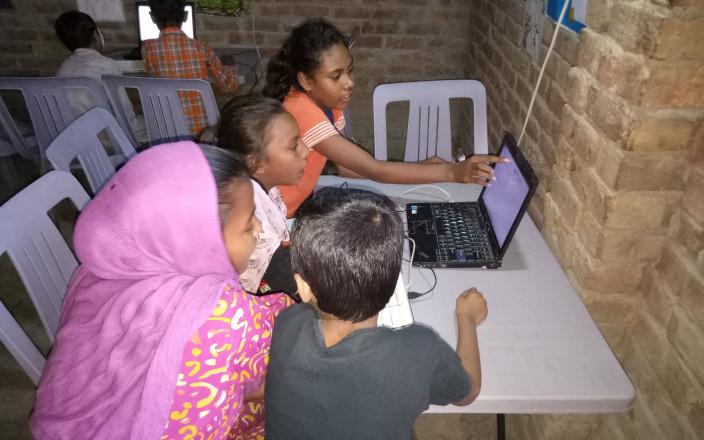 Internet Schools for Street Children in Pakistan