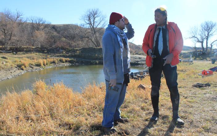 Detroit Anishinaabe Standing Rock Delegationation