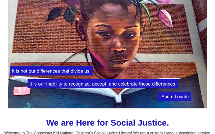 The Conscious Kid Social Justice Library