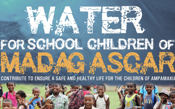 Water for school children of Madagascar