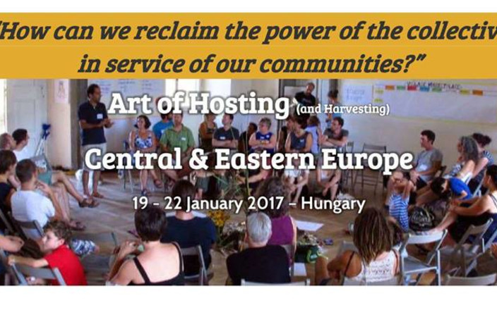 Support Art of Hosting Central & Eastern Europe