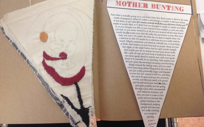 Get This Mother Bunting Artist to London on Friday