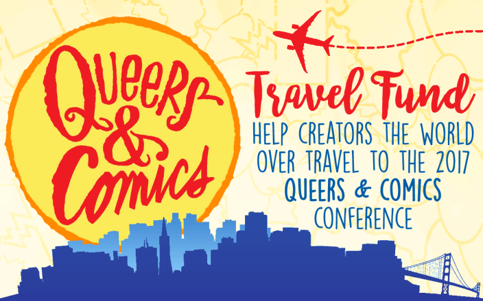 Queers & Comics Travel Fund