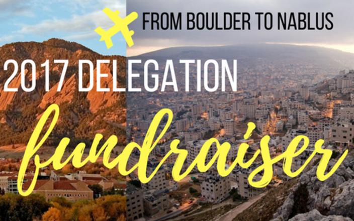 2017 Boulder2Nablus delegation
