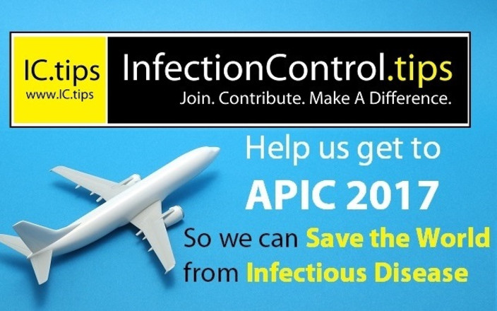 Help IC.tips get to APIC 2017 to Save the World