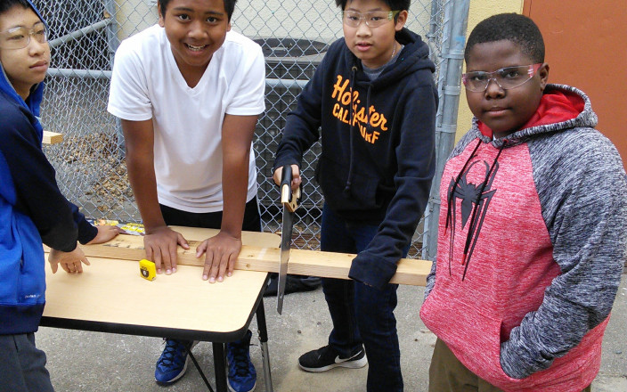 Help Roosevelt Middle School build a Maker Studio