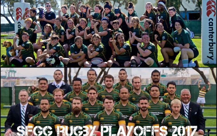 San Francisco Golden Gate Rugby - Playoffs 2017