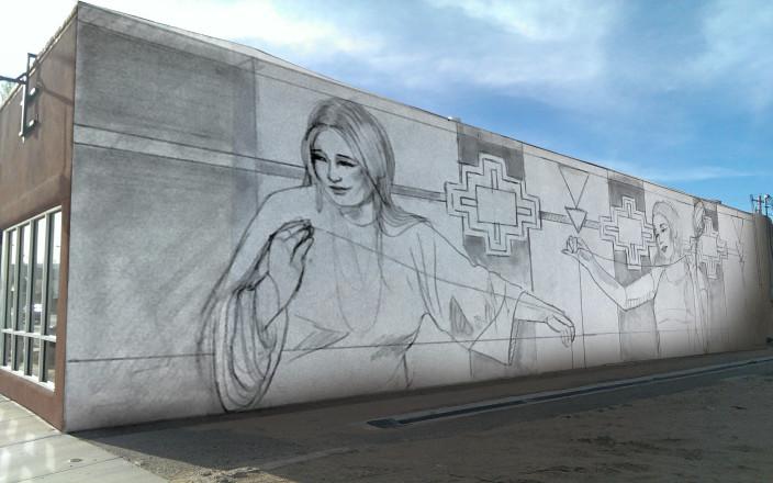 EVFAC Mural Makeover