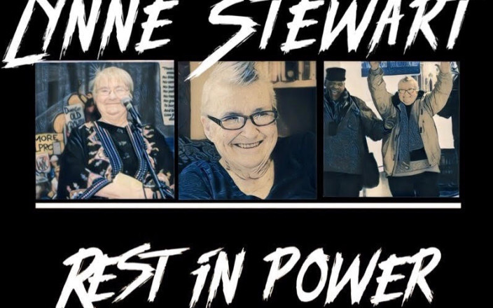 Financial Appeal Lynne Stewart MEMORIAL - April 22