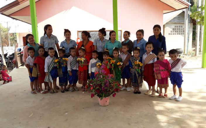 Un jardin d'enfants pour le village de Ban Sok