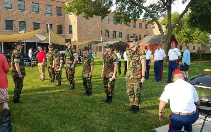 Young Marines anti-drug Youth Program