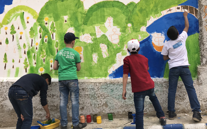 Cosmic Future: making art with young refugees