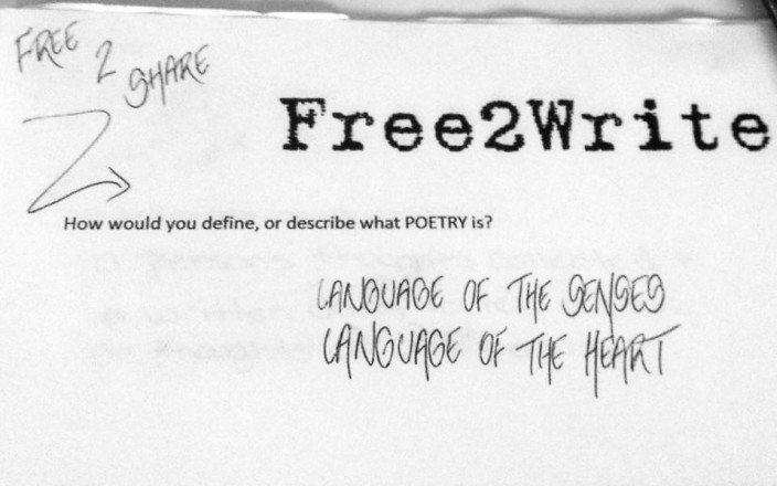Free2Write Poetry at the Cambridge Women's Center
