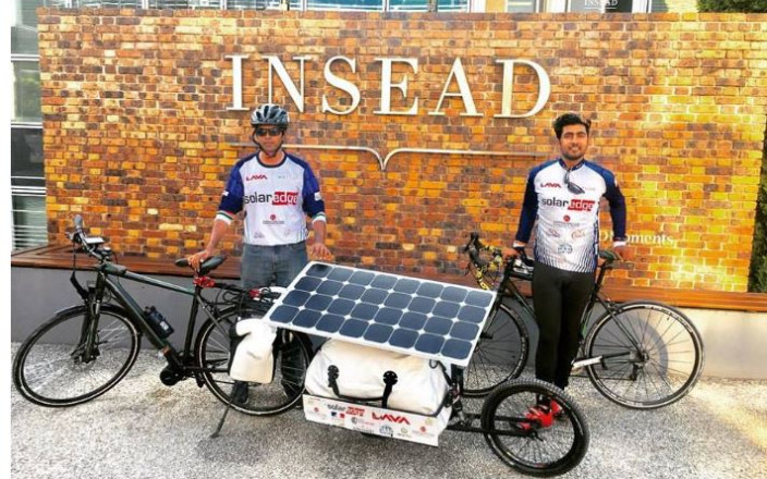 The SunPedal Ride - USA - For Solar Energy