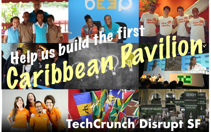 Help bring talented Caribbeans to Disrupt SF!