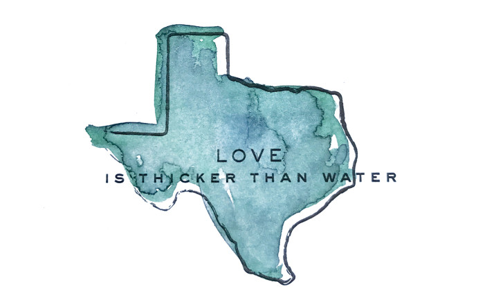 Hurricane Harvey: Love is Thicker Than Water