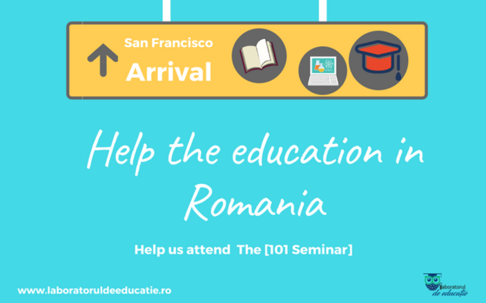 Help the education in Romania