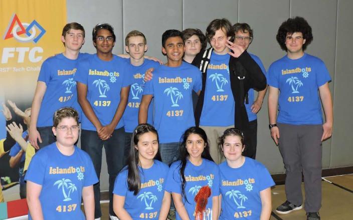 FTC 4137 Islandbots Robotics team