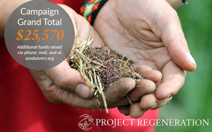 Project Regeneration for Seed Savers Exchange