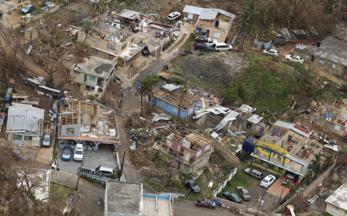 Solar Light and Communications for Puerto Rico