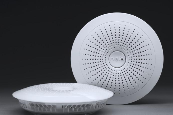 Halo Smart Smoke and CO Alarm with Weather Alerts | Indiegogo