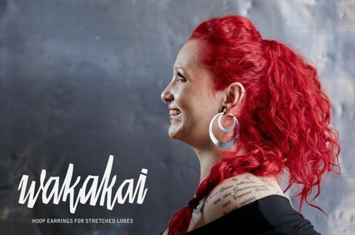Wakakai Hoop Earrings For Stretched Lobes Indiegogo