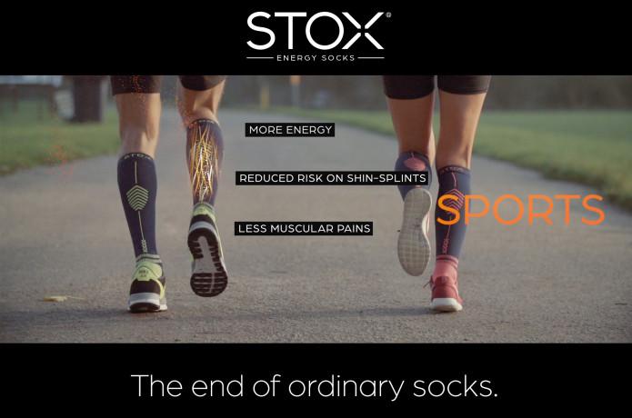 d970a96ead STOX Energy Socks - The end of ordinary socks | Indiegogo