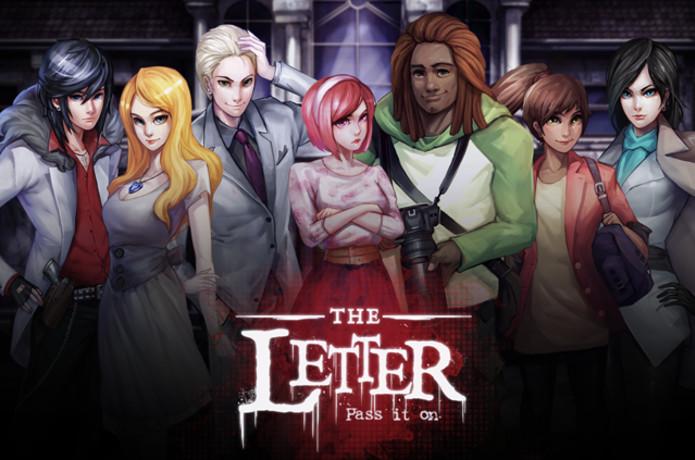 the letter horror game visual novel