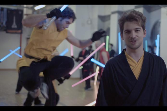 LUDOSPORT sporting light saber combat in America | Indiegogo