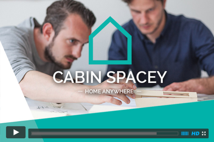 Cabin Spacey Home Anywhere Smart Urban Pioneers Indiegogo