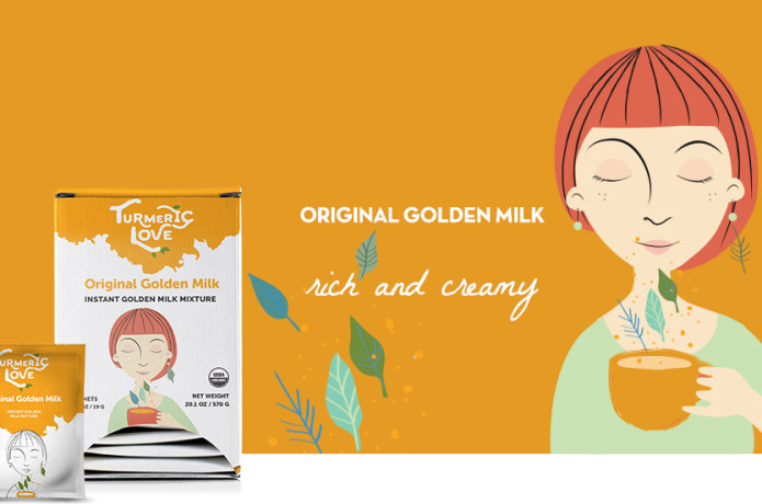 Turmeric Love : Instant Golden Milk Mixture | Indiegogo