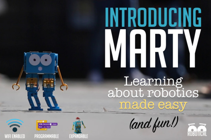 Marty The Robot | Indiegogo