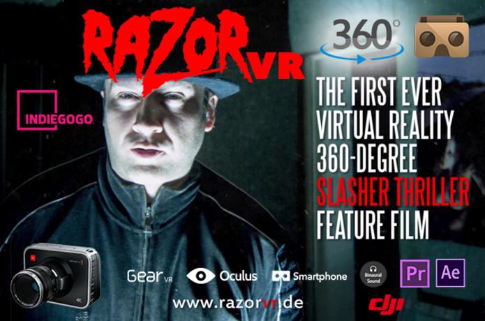 fd2d38f321a8 RAZOR VR 360 - First Slasher Virtual Reality Movie