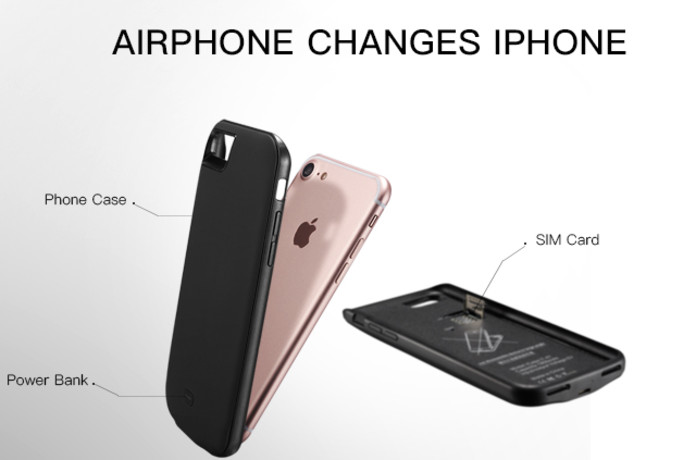 Airphone:Turn iPhone into a DUAL SIM Mobile Device | Indiegogo