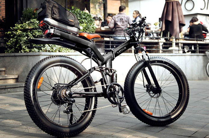 MOAR: Fat Tire, Folding Frame, Electric Bicycle | Indiegogo