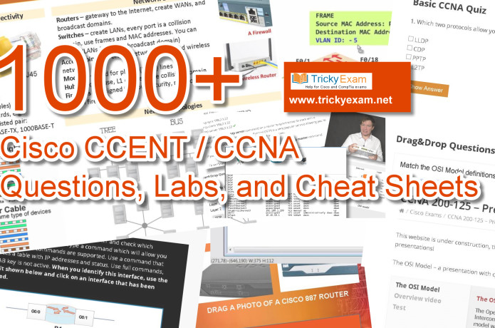 1000 Cisco CCENT & CCNA Exam Questions and Labs | Indiegogo