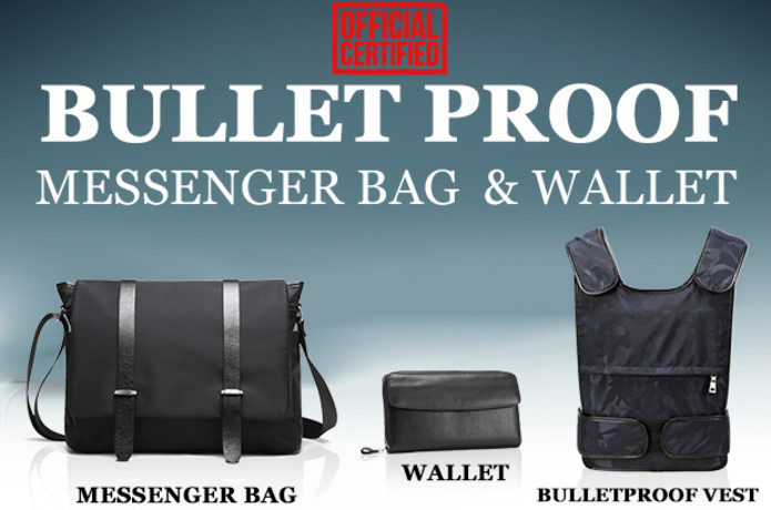 0e96494a131a Closed. The Bullet Proof Messenger Bag and Wallet