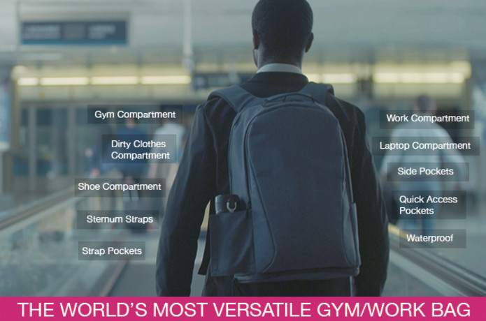 Ares Backpack  Versatile Backpack For Work   Play   Indiegogo 34e8bb693c