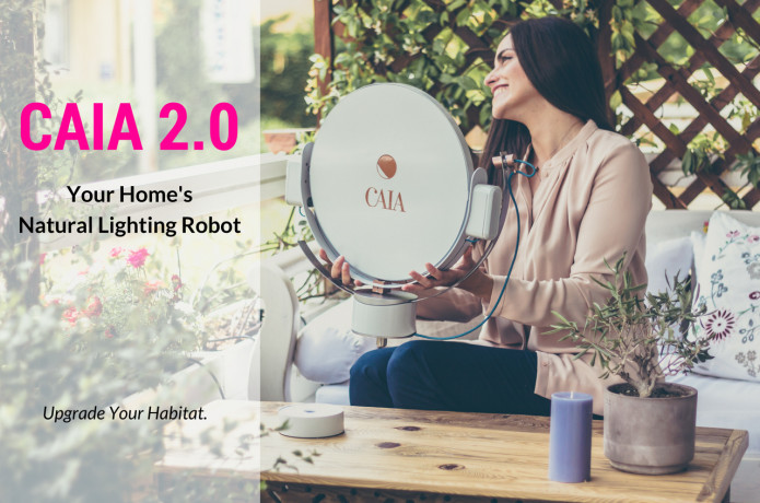Caia: A Robot That Fills Your Home With Sunshine | Indiegogo