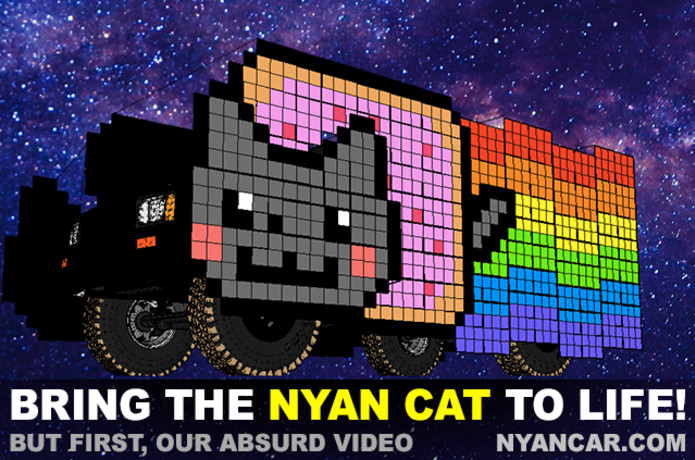 Nyan Car, by Astro Cats Camp | Indiegogo
