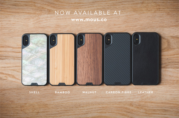 innovative design bff32 9e0e2 Protective iPhone X and 8 Cases - Mous Limitless | Indiegogo